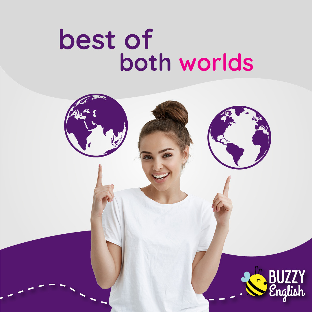 Buzzy English: Best of both worlds... solo il meglio
