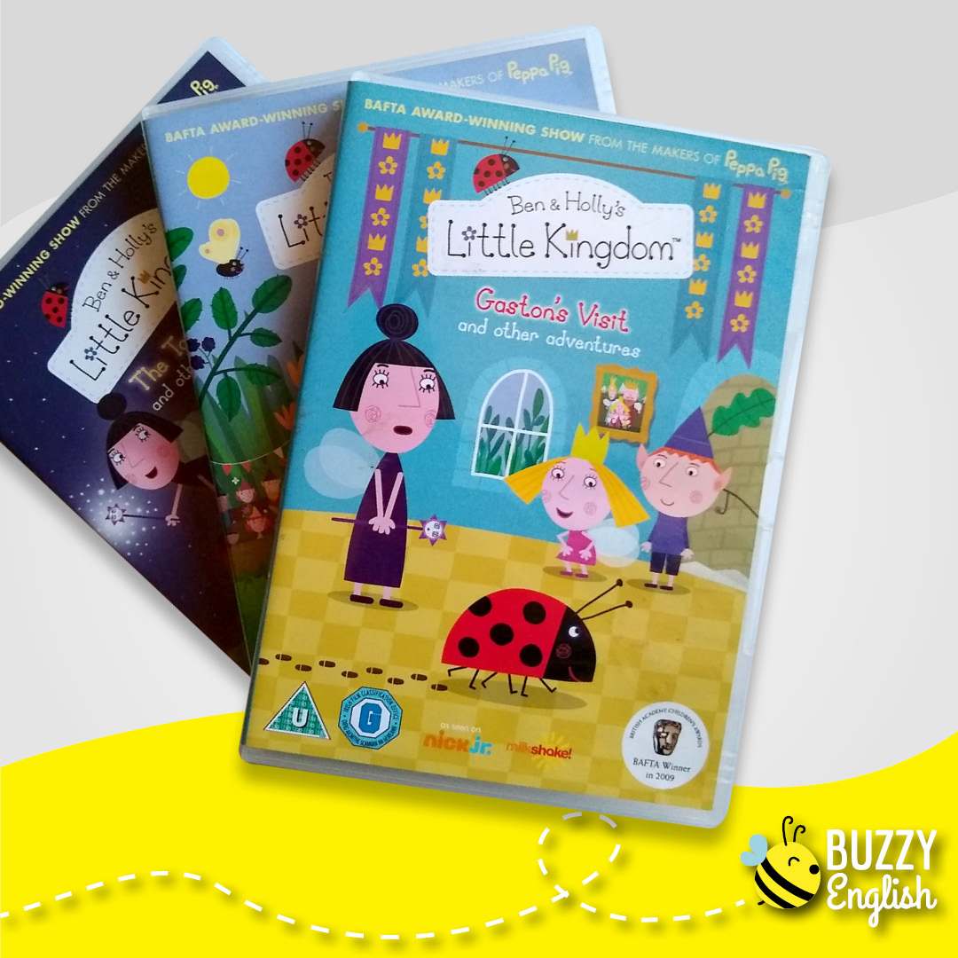 Buzzy English: Ben and Holly's Little Kingdom, un cartone animato adatta a tutti, dai più piccoli agli adulti