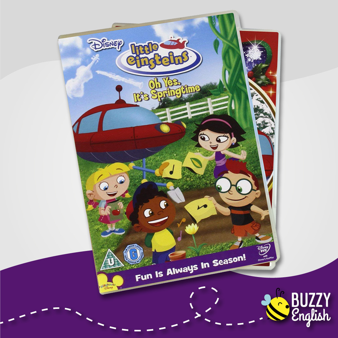 Buzzy English: Little Einsteins, un serie animata veramente educativa